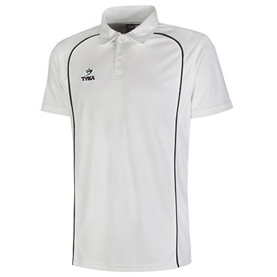 Club Shirt Short Sleeves - Black Piping
