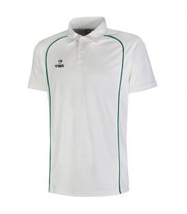 Club Shirt Short Sleeves - Green Piping