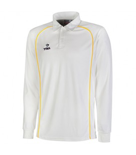 Club Shirt Long Sleeves - Golden Yellow Piping